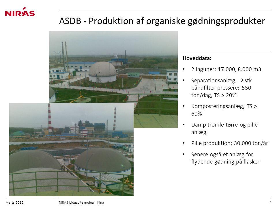 ASDB - Produktion af organiske gødningsprodukter