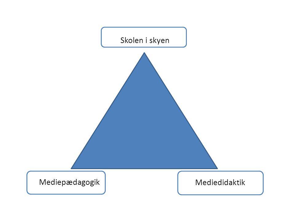 Skolen i skyen Mediepædagogik Mediedidaktik