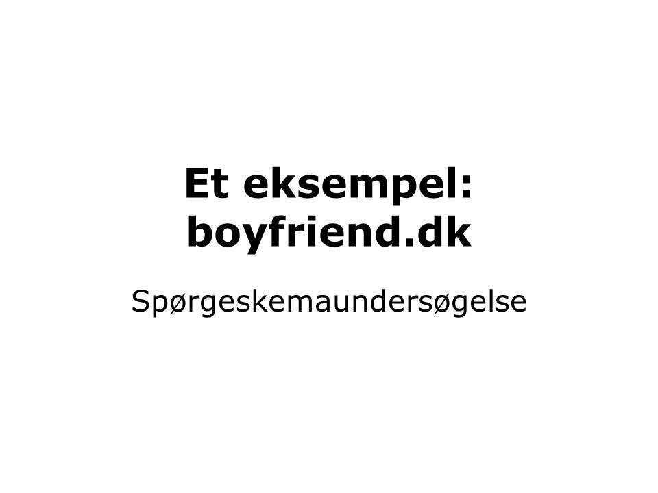 Et eksempel: boyfriend.dk