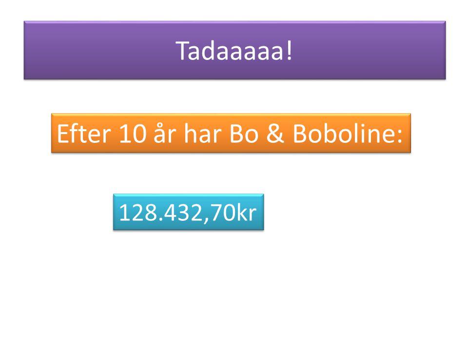 Efter 10 år har Bo & Boboline:
