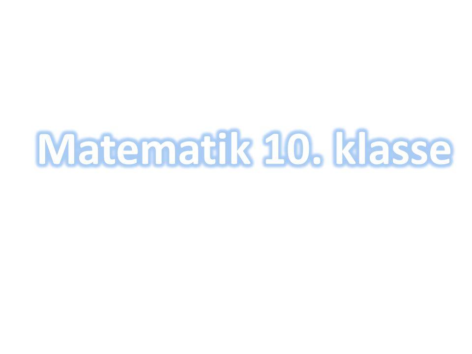 Matematik 10. klasse