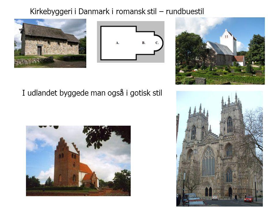 Kirkebyggeri i Danmark i romansk stil – rundbuestil