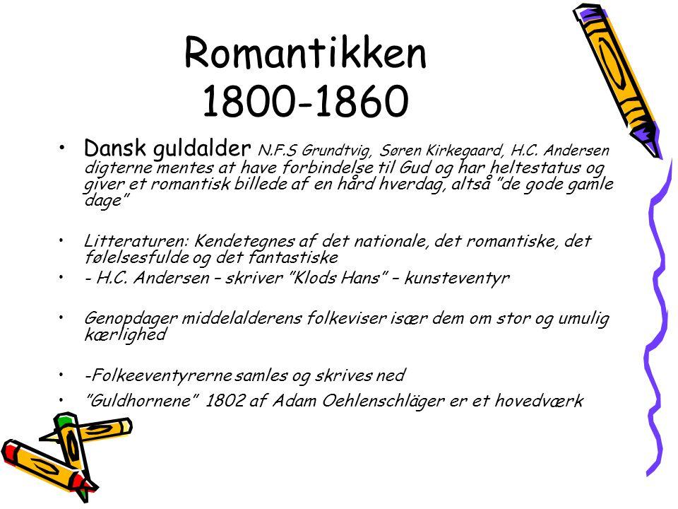 Romantikken 1800-1860