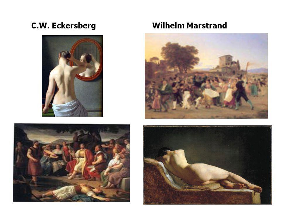 C.W. Eckersberg Wilhelm Marstrand