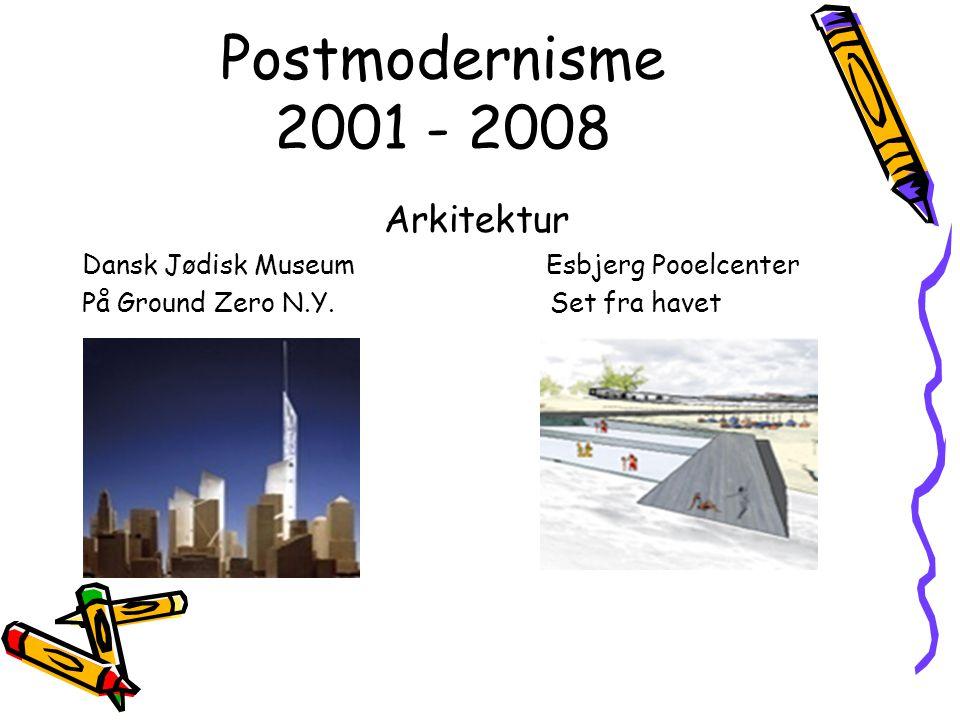 Postmodernisme 2001 - 2008 Arkitektur
