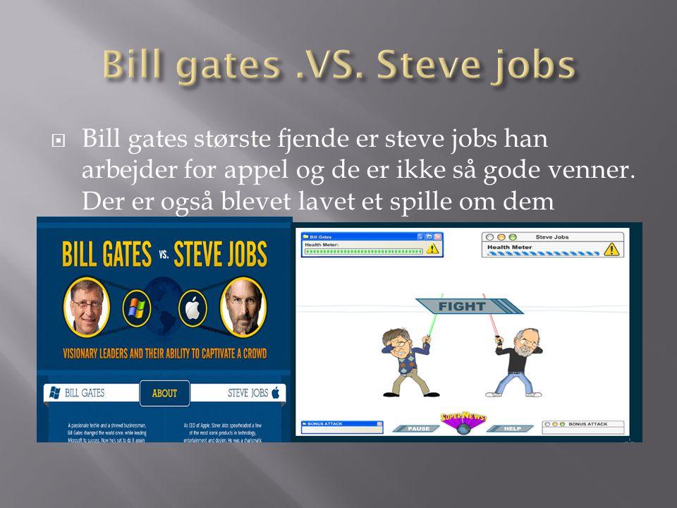 Bill gates .VS. Steve jobs