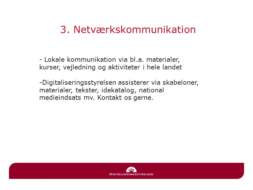 3. Netværkskommunikation