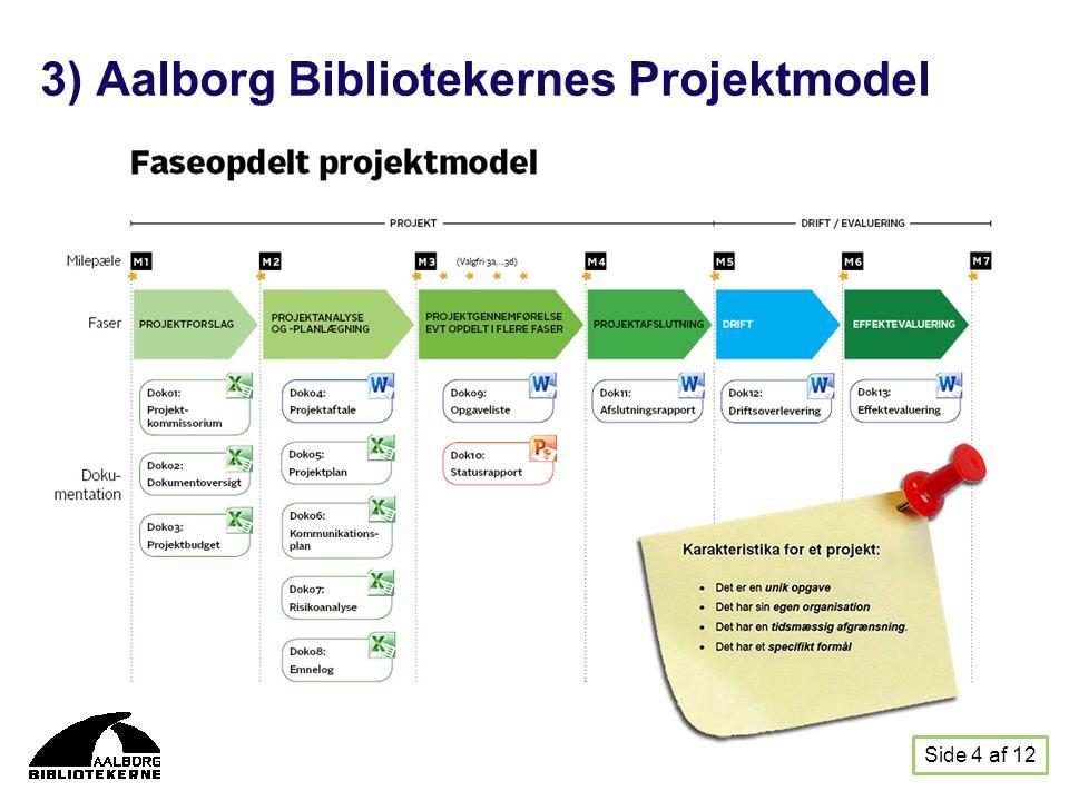 3) Aalborg Bibliotekernes Projektmodel