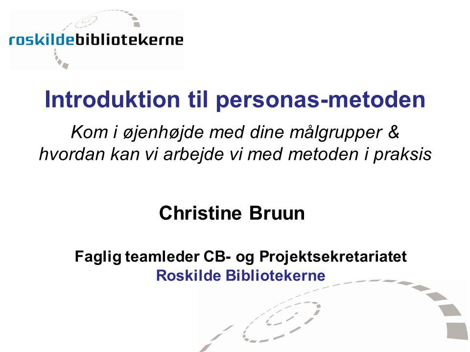 Faglig teamleder CB- og Projektsekretariatet Roskilde Bibliotekerne