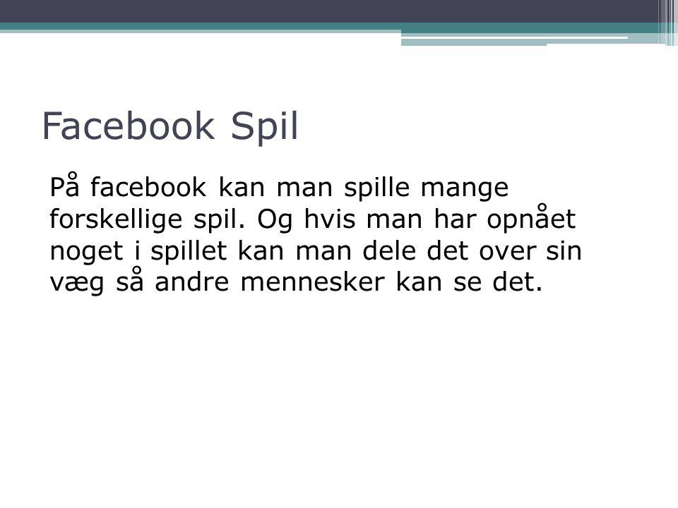 Facebook Spil