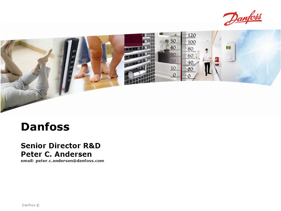 Danfoss Senior Director R&D Peter C. Andersen
