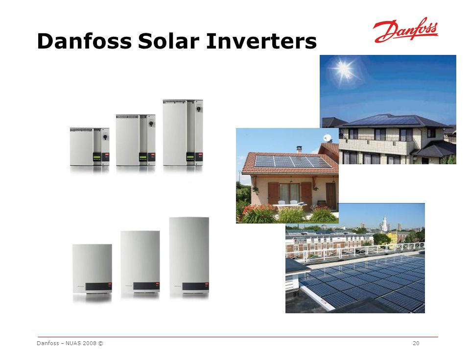 Danfoss Solar Inverters
