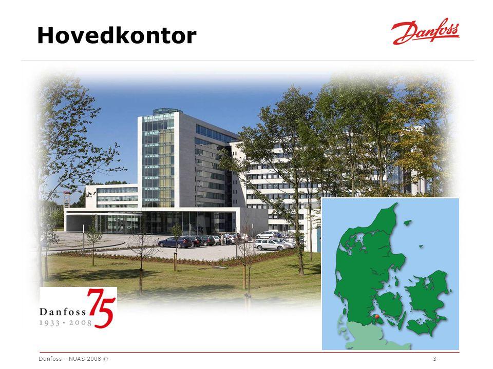 Hovedkontor Danfoss – NUAS 2008 © 3