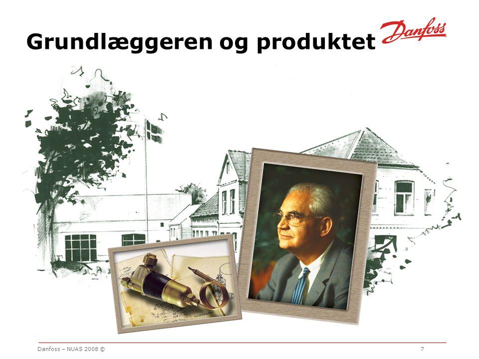 Grundlæggeren og produktet