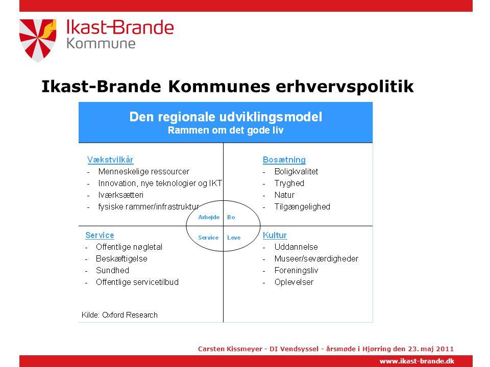 Ikast-Brande Kommunes erhvervspolitik