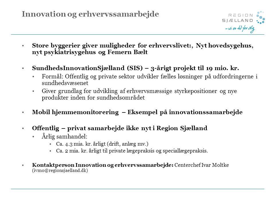 Innovation og erhvervssamarbejde