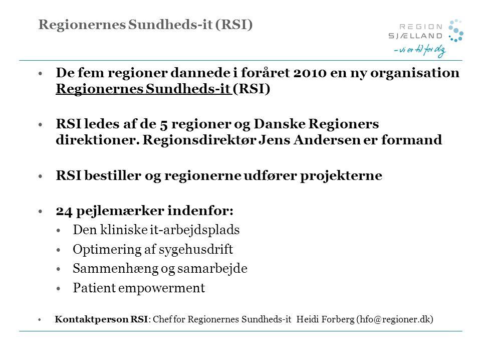 Regionernes Sundheds-it (RSI)