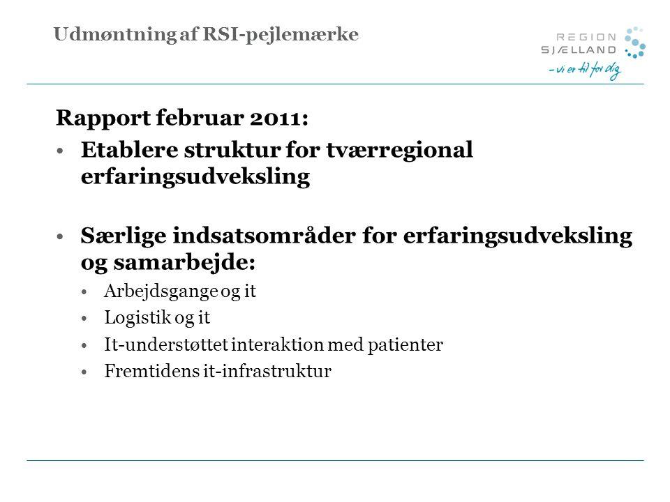 Udmøntning af RSI-pejlemærke