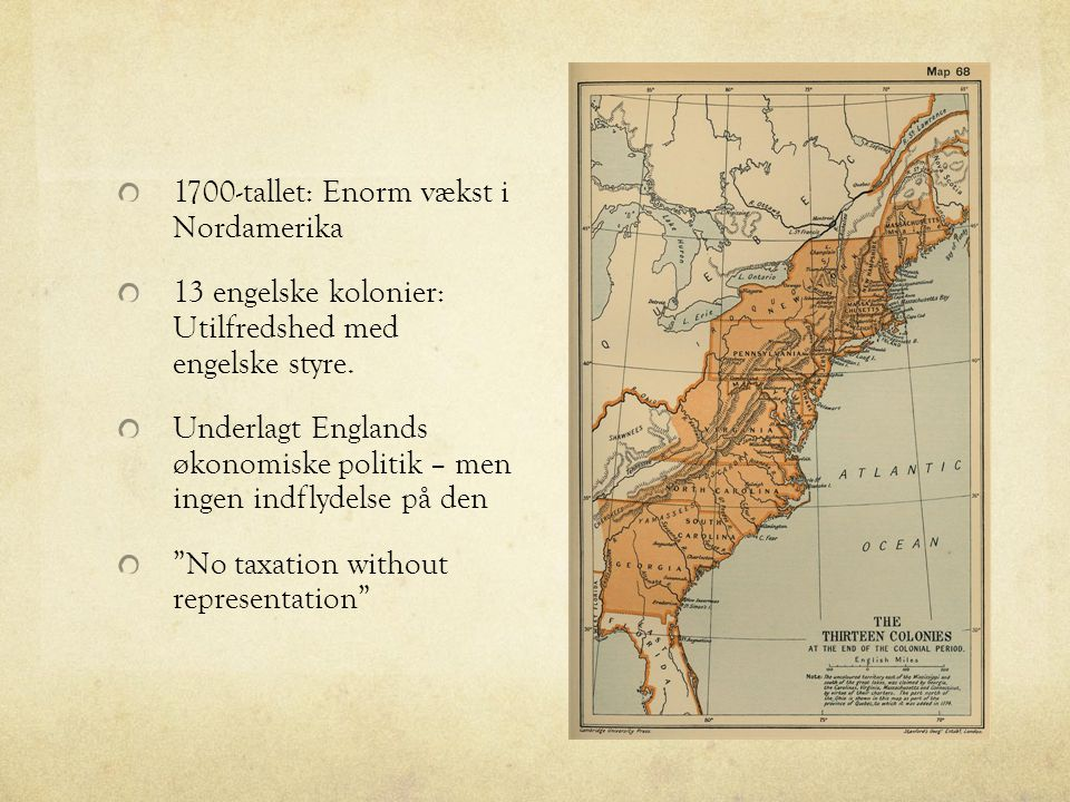 1700-tallet: Enorm vækst i Nordamerika