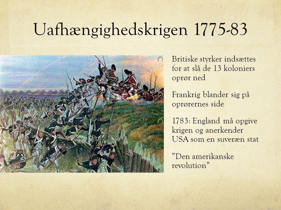 Uafhængighedskrigen 1775-83