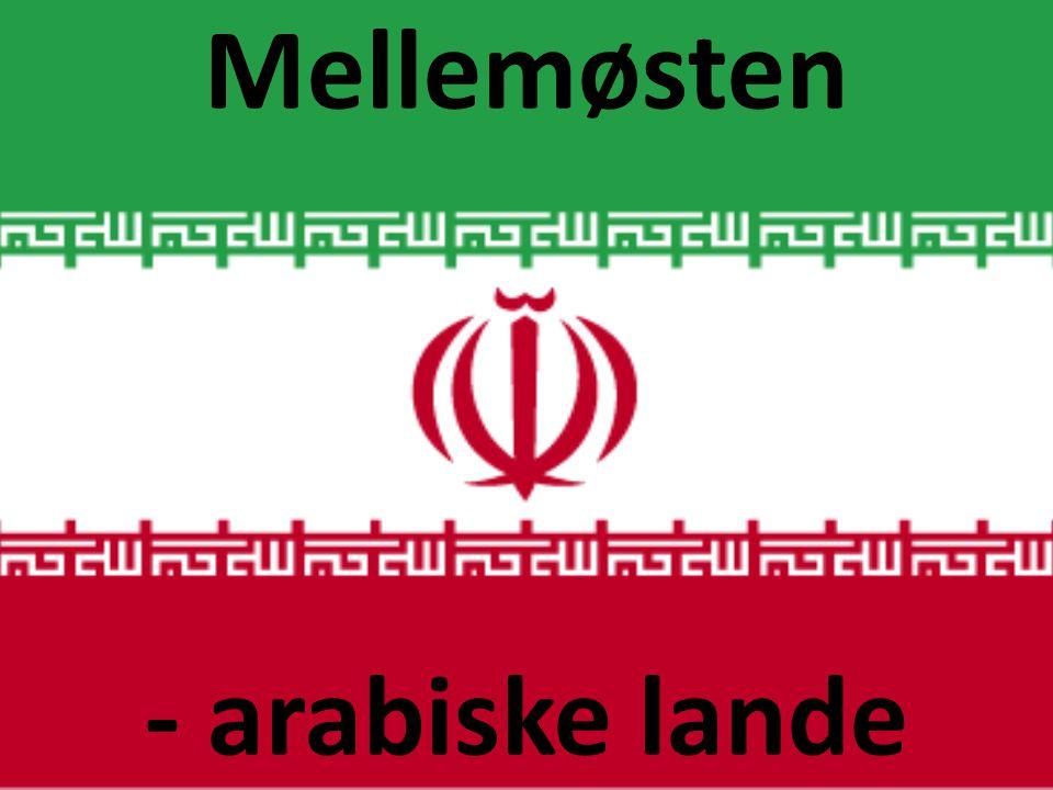 Mellemøsten - arabiske lande