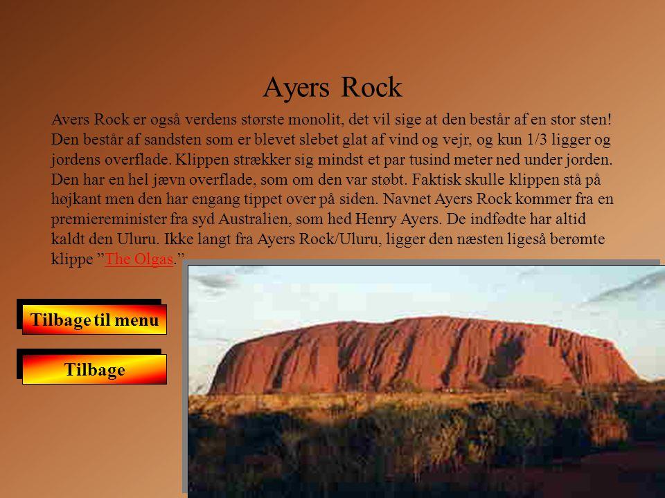Ayers Rock Tilbage til menu Tilbage