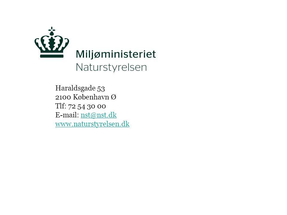 Haraldsgade 53 2100 København Ø Tlf: 72 54 30 00 E-mail: nst@nst.dk