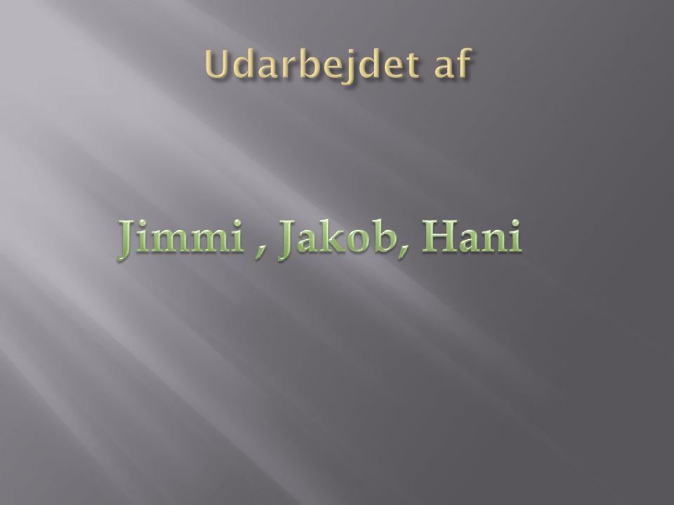 Udarbejdet af Jimmi , Jakob, Hani