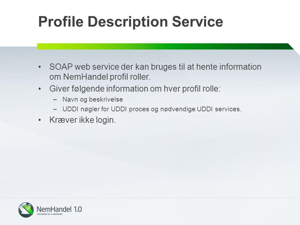 Profile Description Service