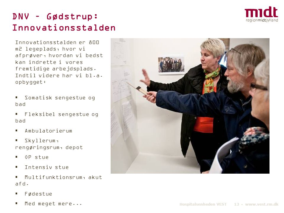 DNV – Gødstrup: Innovationsstalden