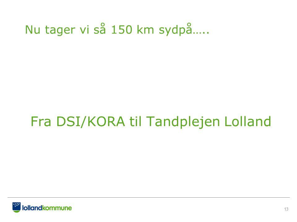 Fra DSI/KORA til Tandplejen Lolland