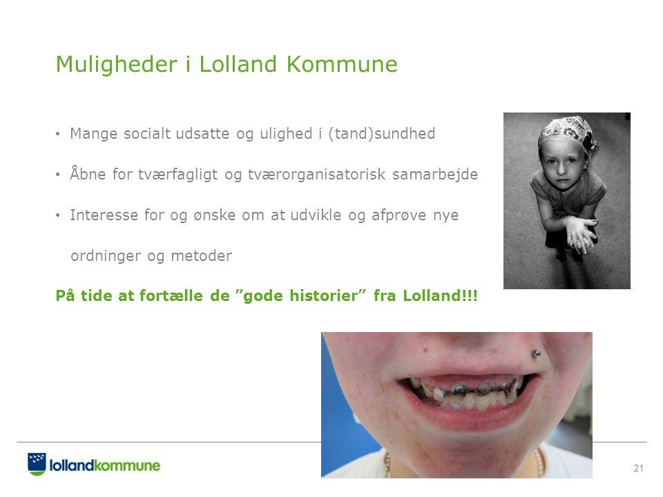 Muligheder i Lolland Kommune
