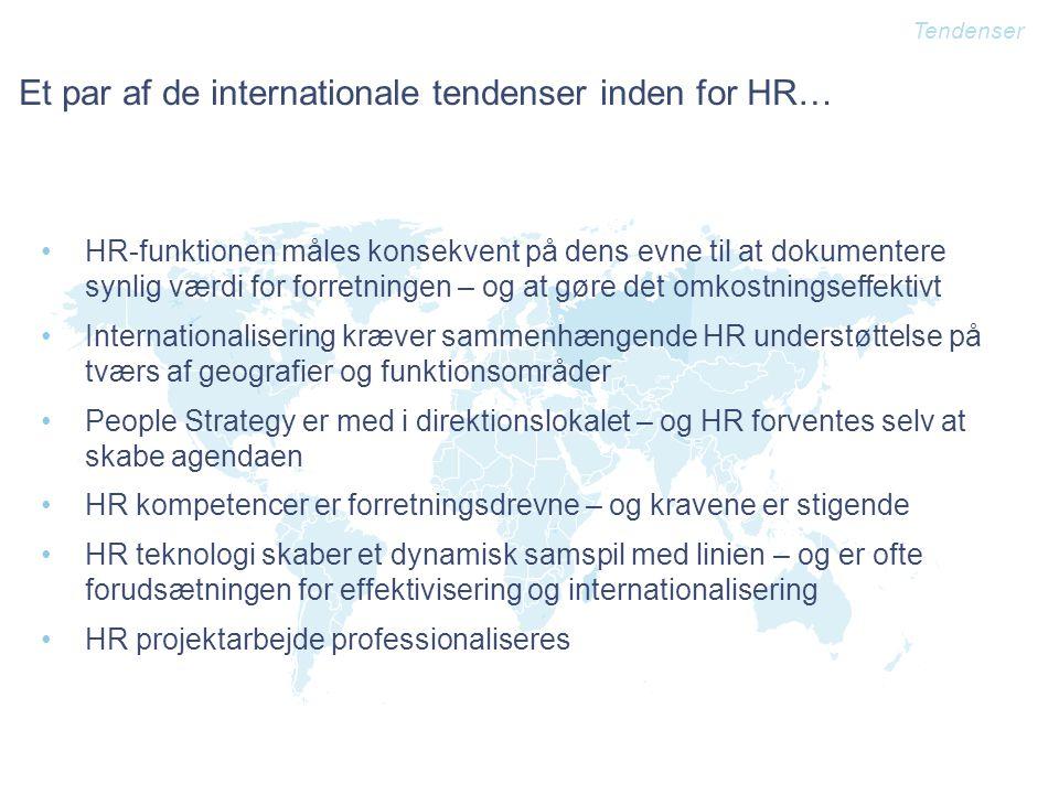 Et par af de internationale tendenser inden for HR…