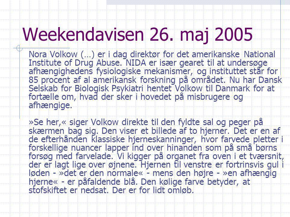 Weekendavisen 26. maj 2005