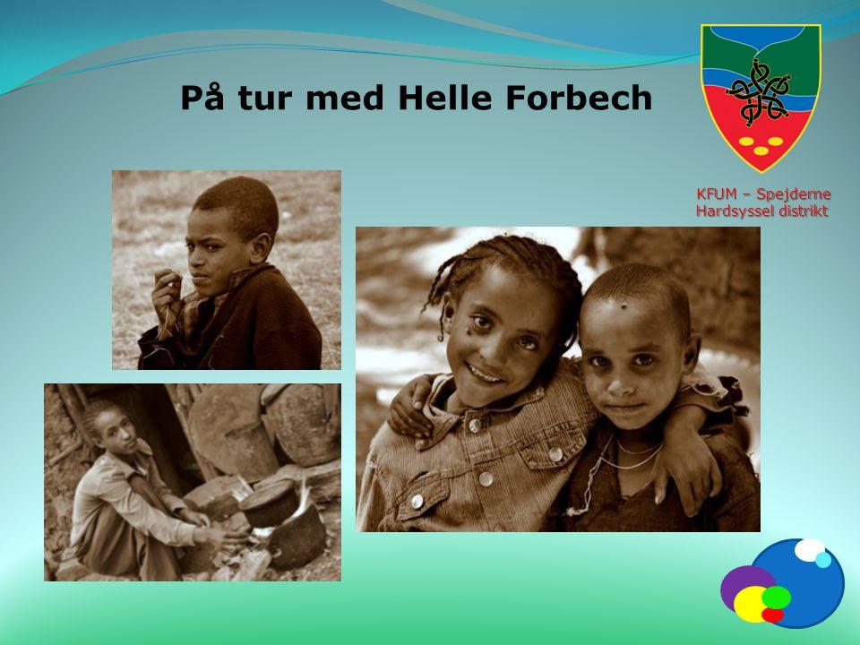 På tur med Helle Forbech