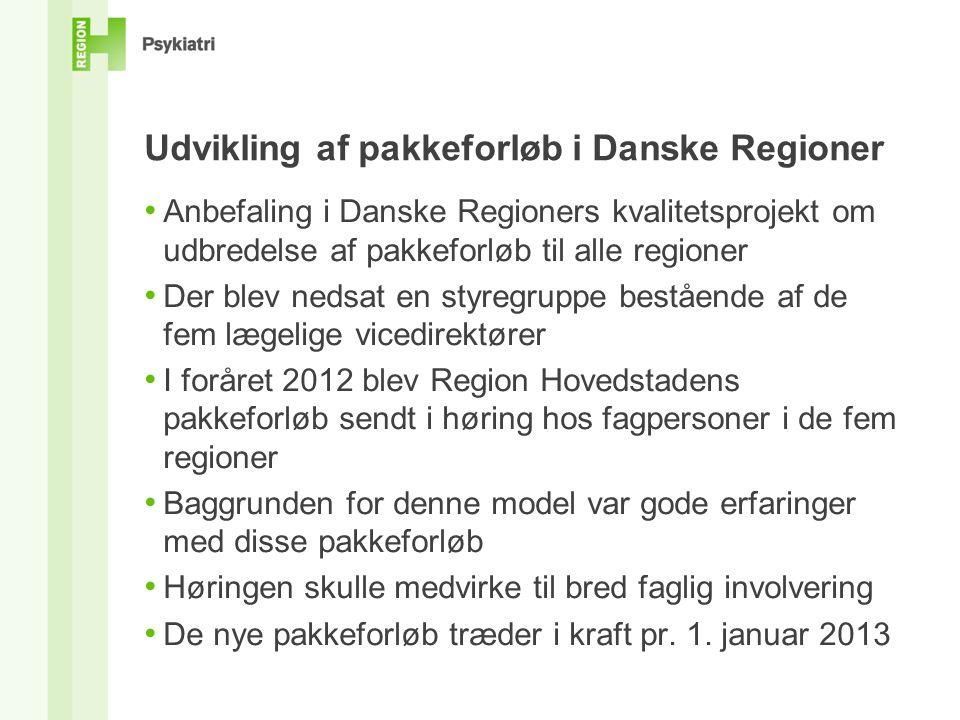 Udvikling af pakkeforløb i Danske Regioner