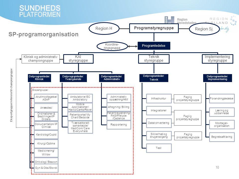 SP-programorganisation
