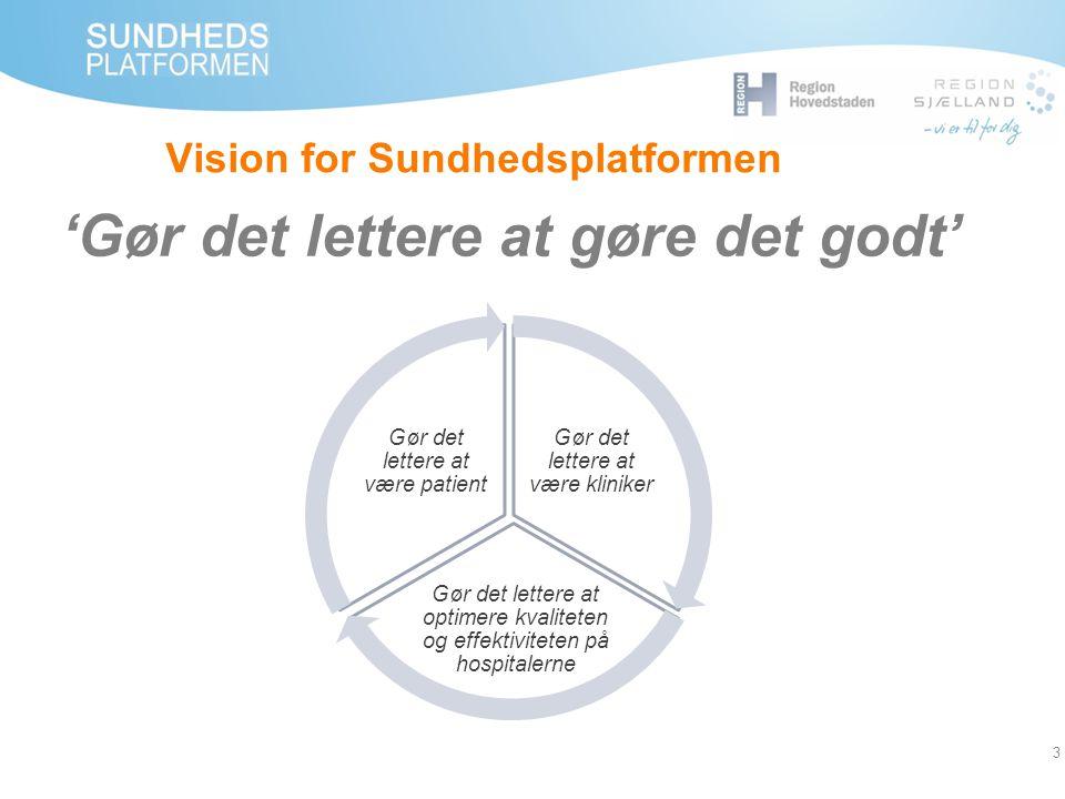 Vision for Sundhedsplatformen