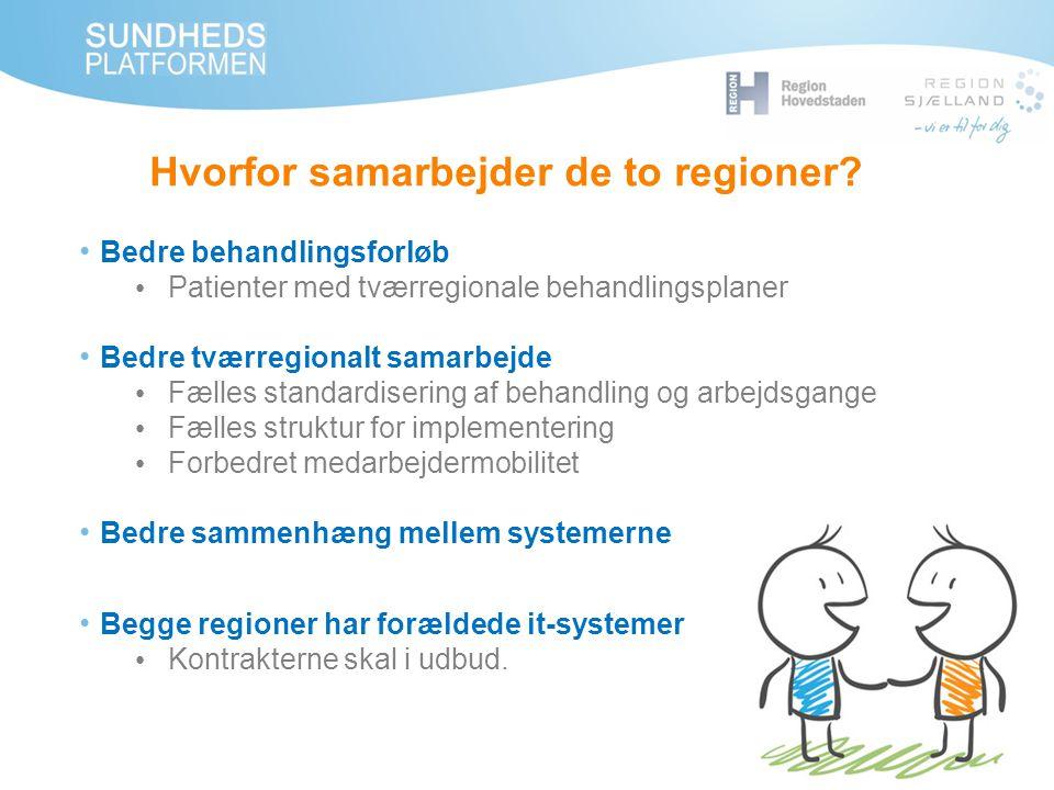 Hvorfor samarbejder de to regioner