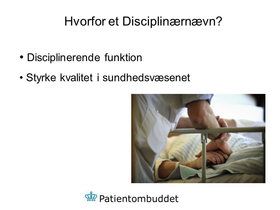 Hvorfor et Disciplinærnævn