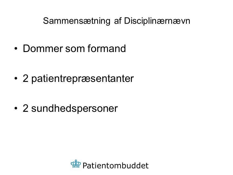 Sammensætning af Disciplinærnævn