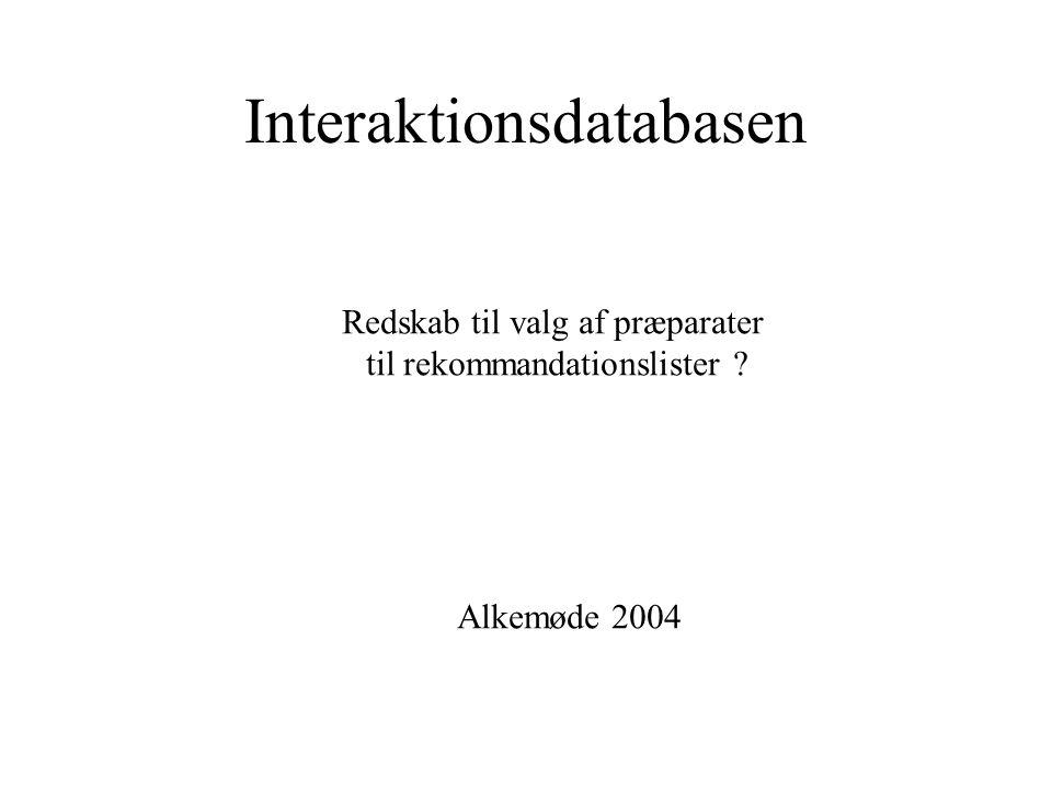 Interaktionsdatabasen