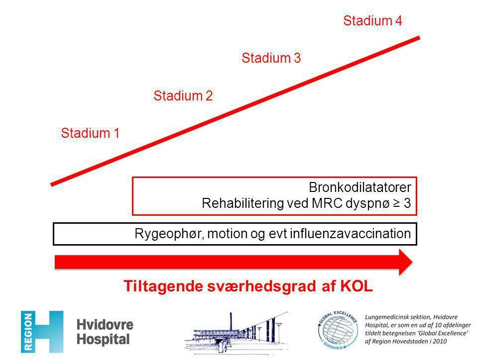 inhalationssteroider kol