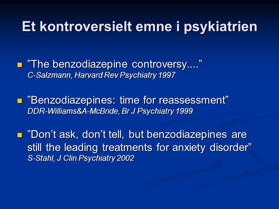 Et kontroversielt emne i psykiatrien