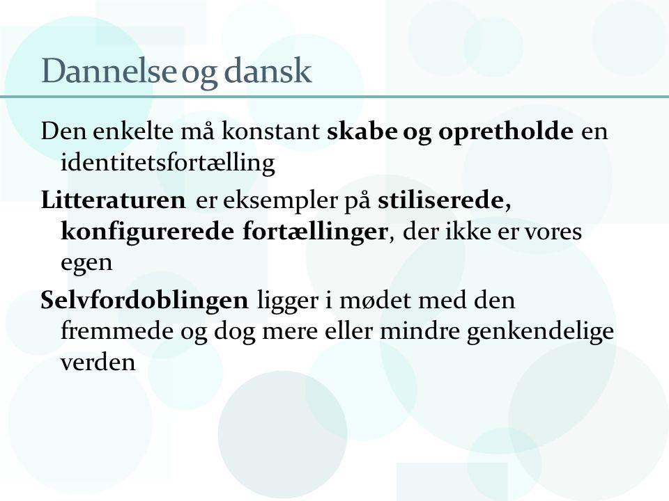 Dannelse og dansk