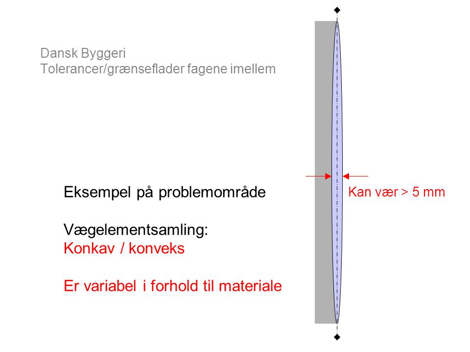 Dansk Byggeri Tolerancer/grænseflader fagene imellem