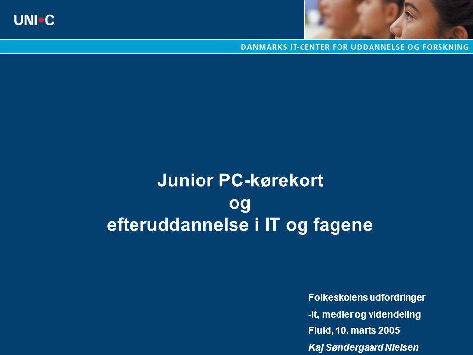 Junior PC-kørekort og efteruddannelse i IT og fagene