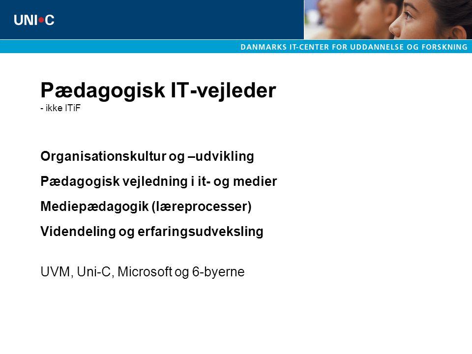 Pædagogisk IT-vejleder - ikke ITiF