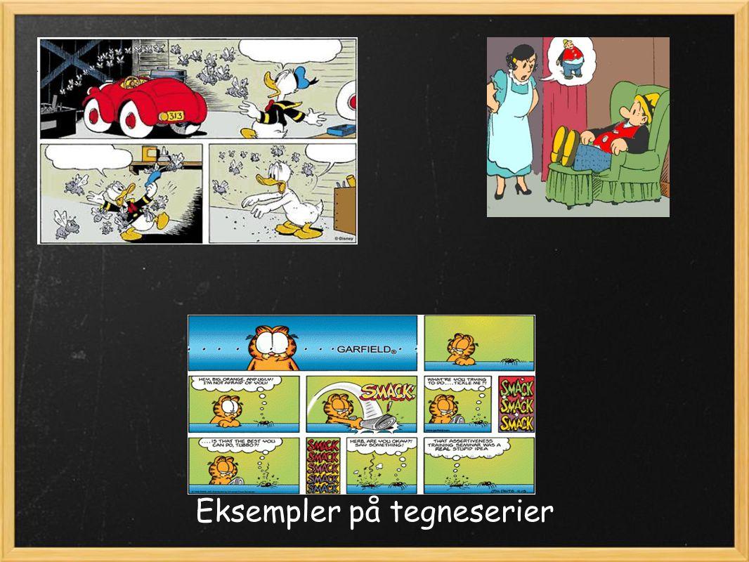 Eksempler på tegneserier