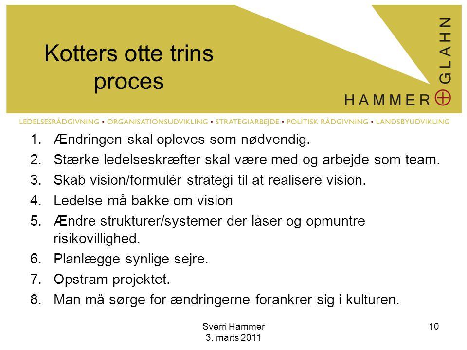 Kotters otte trins proces